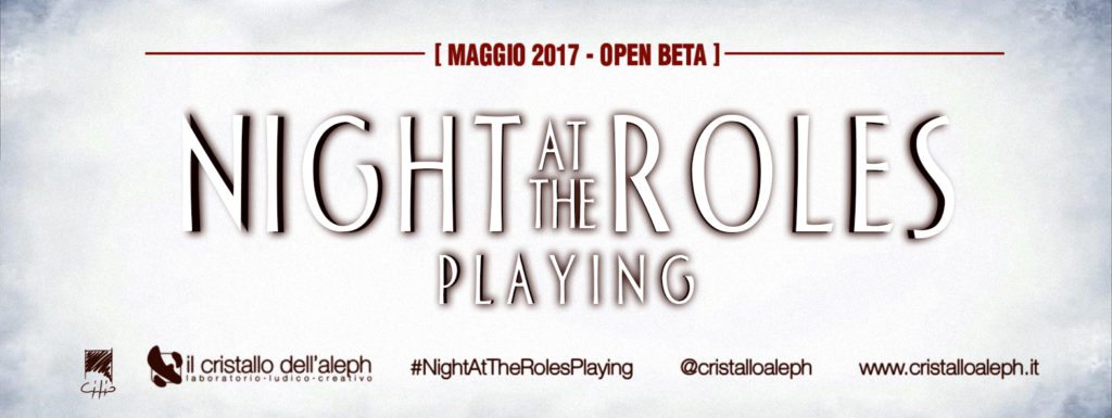 """Night at the Roles Playing"" è un gioco di ruolo in betaplay pubblica"